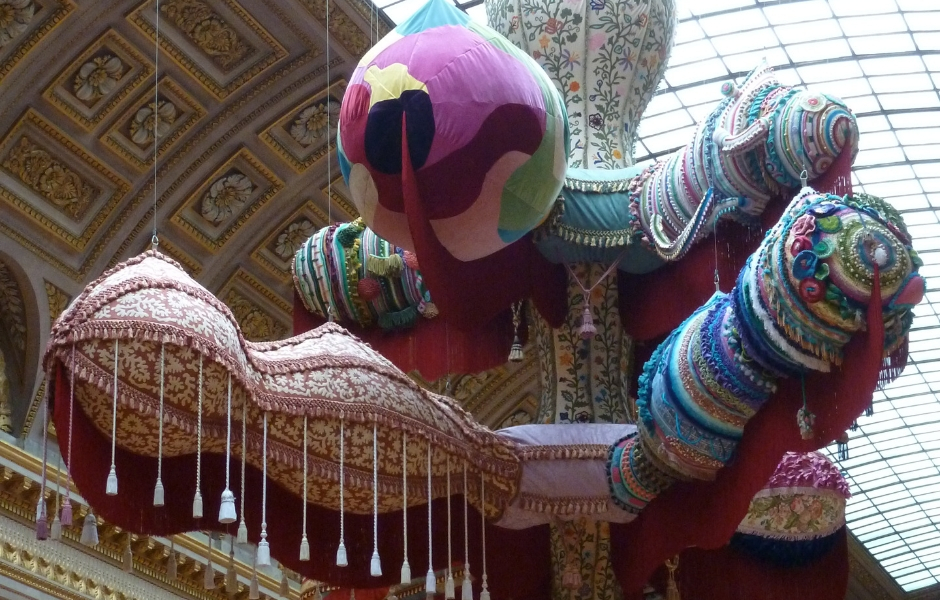 Crochet in art: Joana Vasconcelos