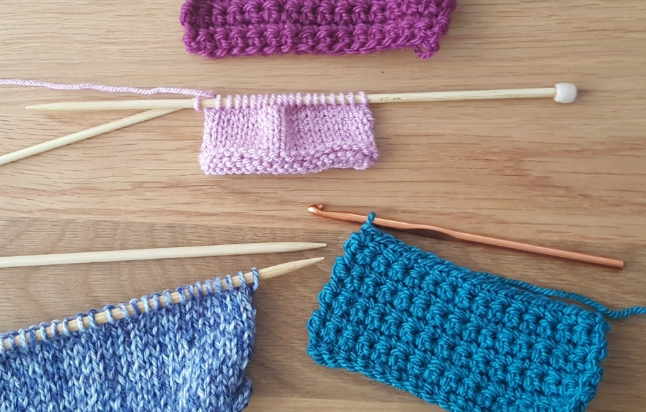 Knitters can't crochet – a myth