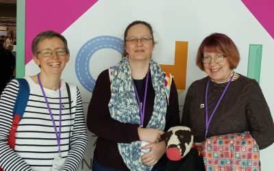 Going to wool shows with Ammonite Yarns: Part 1 – A day out at CHSI Stitches in Birmingham